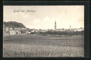 AK Mattsee, Totale mit Kirche