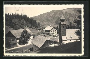 AK Krispl, Ortspartie an der Kirche