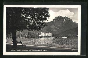 AK Strobl, Grand Hotel am See mit Rettenkogl