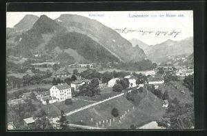 AK Losenstein, Blick von der Ruine