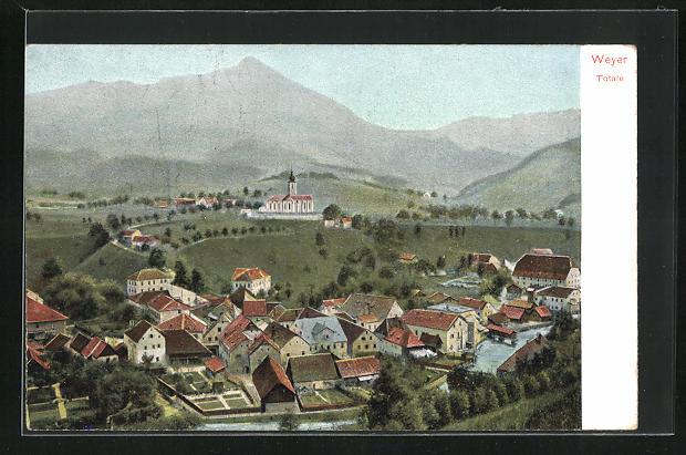 Bild zu AK Weyer, Ortsans...