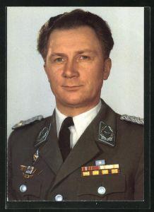 AK Gemeinsamer Kosmosflug UdSSR /DDR, DDR-Kosmonaut Sigmund Jähn