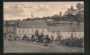 AK Daun i. Eifel, Hotel Eifeler Hof, Bes, Carl Dix