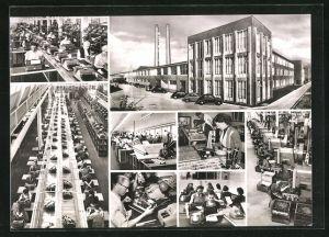 AK Wilhelmshaven, Olympia Werke, grösste Büromaschinenfabrik Deutschlands, Schreibmaschinen