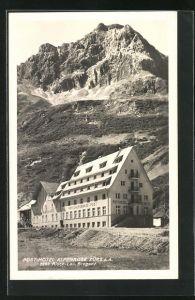 AK Zürs, Posthotel Alpenrose
