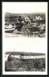 AK Kaisersteinbruch, Siedlung und Totalansicht