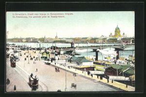 AK St. Petersbourg, Vue Generale prise de Vassily-Ostrov