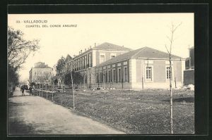 AK Valladolid, Cuartel del Conde Ansurez, Gebäudeansicht
