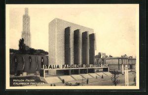 AK Bruxelles, Exposition 1935, Pavillon Italien