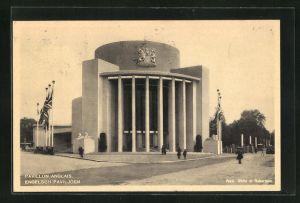 AK Bruxelles, Exposition 1935, Pavillon Anglais