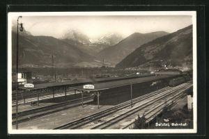 AK Selztal, Motiv vom Bahnhof