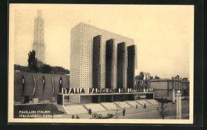 AK Brüssel, Exposition 1935, Pavillon Italien
