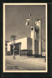 AK Brüssel, Weltausstellung 1935, Pavillon Torck, Architektur