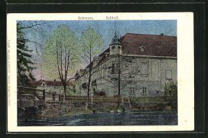 Luna-AK Schrems, Motiv vom Schloss