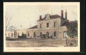 AK Pithiviers, La Gare, Motiv vom Bahnhof