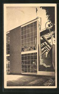 AK Paris, Exposition des Arts décoratifs 1925, Pavillon des la République Sovietique, Bauhaus