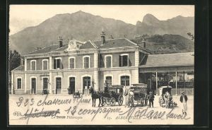 AK Albertville, La Gare