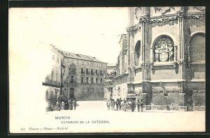 AK Murcia, Exterior de la Catedral