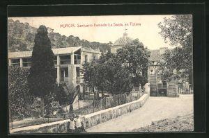 AK Murcia, Santuario llamado La Santa, en Totana