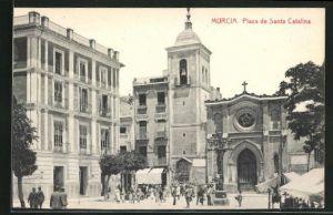 AK Murcia, Plaza de Santa Catalina