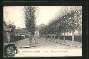 AK Laroche-Migennes, La Cite - Avenue de la Rotonde