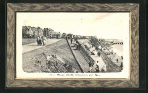 AK Clacton on Sea, Peoples on the West Cliff