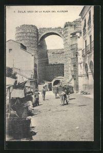 AK Avila, Arco de la Plaza del Alcazar