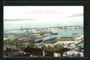 AK Gibraltar, The Dockyard, Part of the British and American Fleets