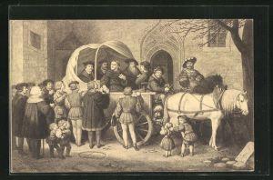 AK Wittenberg, Martin Luther macht sich auf den Weg zum Reichstag nach Worms