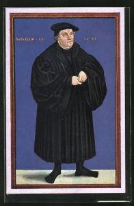 AK Martinus Luther, aus dem Stammbuch L. Cranach