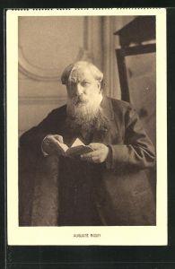 AK Auguste Rodin, Portrait des Malers
