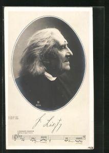 AK F. Liszt, II. Rhapsodie Hongroise