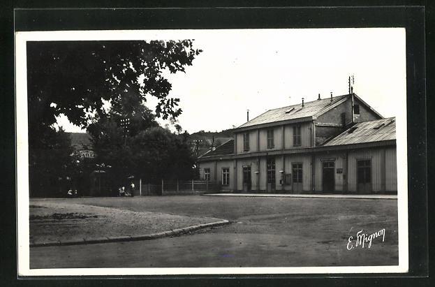 AK Provins, La Gare, Blick zum Bahnhofsgebäude