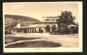 AK Gerardmer, Le gare, Blick zum Bahnhof