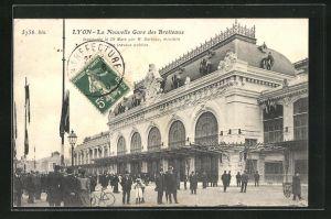AK Lyon, La Nouvelle Gare des Brotteaux