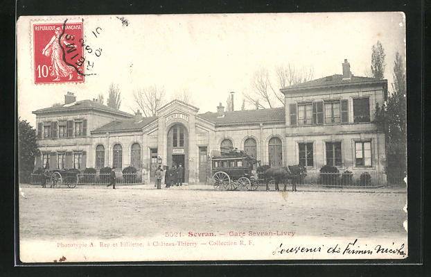 AK Sevran, Gare Sevran-Livry, vue generale