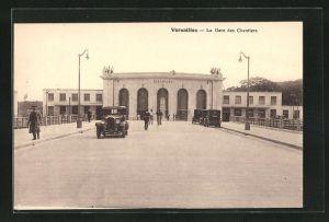 AK Versailles, La Gare des Chantiers