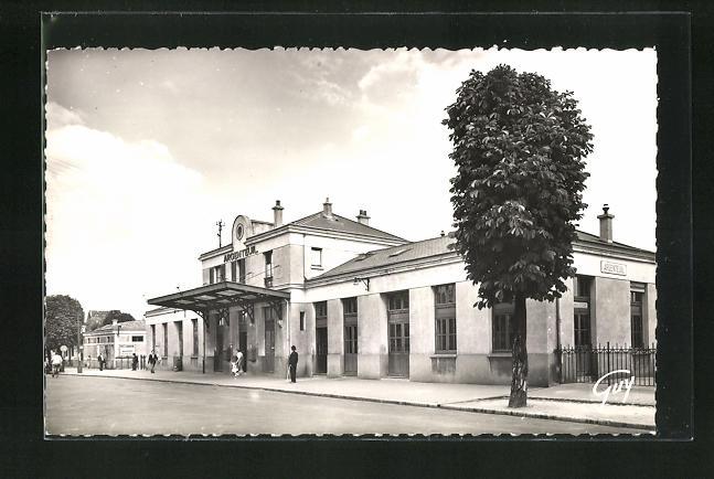 AK Argenteuil, La Gare, Blick zum Bahnhofsgebäude