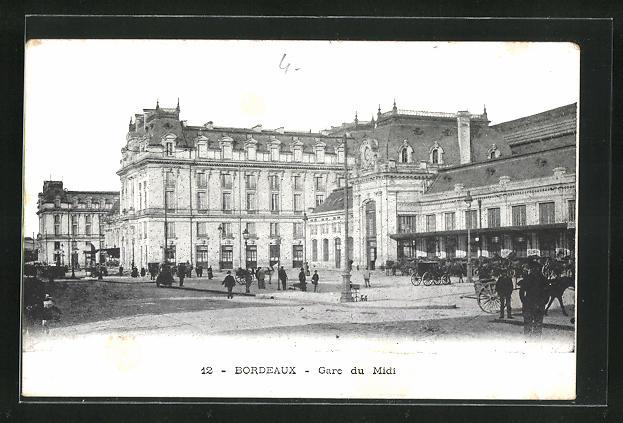 AK Bordeaux, Gare du Midi