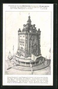 AK Stormarnia Wundermöbel, erbaut vom Tischler Carl Wiech 1915