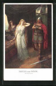 AK Tristan und Isolde, von Richard Wagner