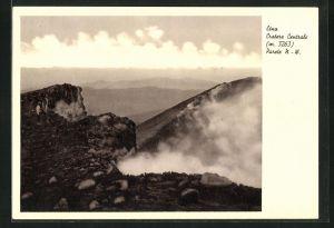 AK Etna, Cratere Centrale, Zentraler Krater des Vulkans Ätna