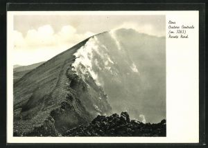 AK Etna, Cratere Centrale, Hauptkrater des Vulkans Ätna