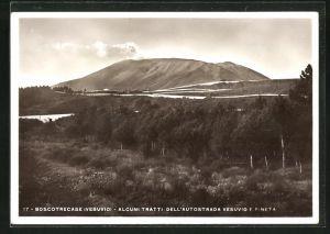 AK Boscotrecase, Alcuni Tratti dell`Autostrada Vesuvio Pineta, Vulkan Vesuv