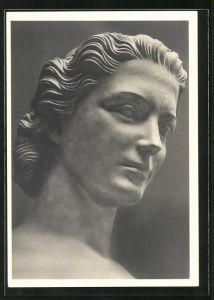 Künstler-AK Arno Breker: Kopf der Skulptur Anmut