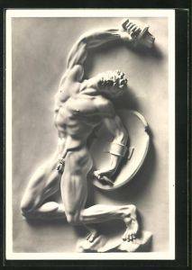Künstler-AK Arno Breker: Relieffigur Opfer