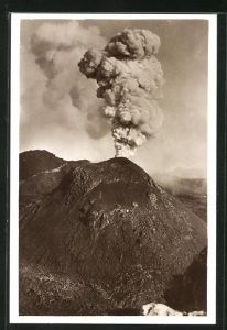 AK Pompei, Eruption des Vulkans Vesuv