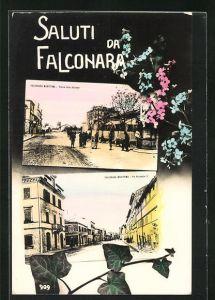 AK Falconara Maritima, Piazza della Stazione, Via Nazionale 3