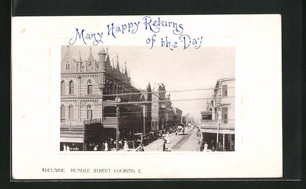 AK Adelaide, Rundle Street looking East