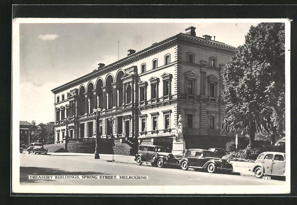 AK Melbourne, Treasury Buildings, Spring Street